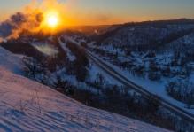 Barn Bluff Winter