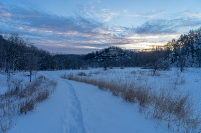 Morning in the Bluffs
